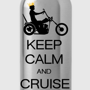 keep calm and cruise T-shirts - Drikkeflaske
