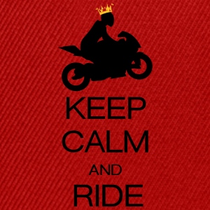 keep calm and ride T-shirts - Snapback Cap