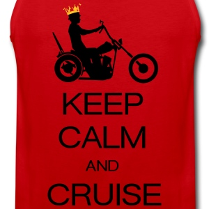 keep calm and cruise Magliette - Canotta premium da uomo