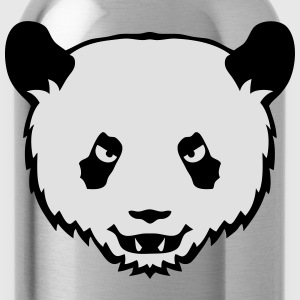 panda mechant animal sauvage dessin 2706 Tee shirts - Gourde