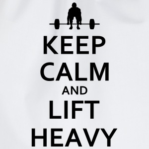 Keep calm and lift heavy - Turnbeutel