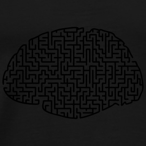 puzzled brain bag - Men's Premium T-Shirt