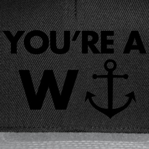 W-Anchor Pullover & Hoodies - Snapback Cap