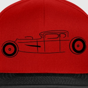 Chopped Hot Rod - Snapback Cap