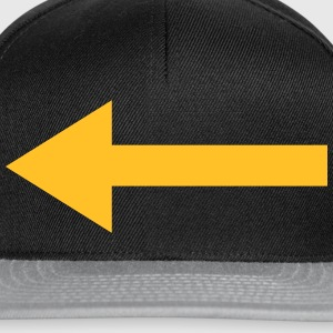 Left Arrow T-Shirts - Snapback Cap