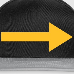 Right Arrow T-Shirts - Snapback Cap