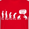 Reverse evolution Uh Uh Uh  T-Shirts - Men's T-Shirt