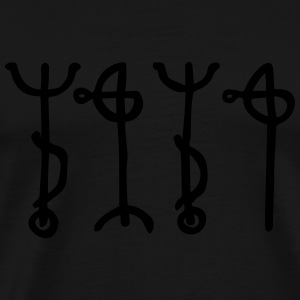 Draumstafir, Magical Dream Sigil, Prophetic Dreams Hoodies & Sweatshirts - Men's Premium T-Shirt