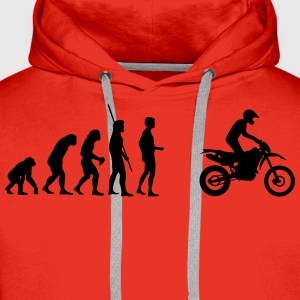 Evolution Standing Enduro drive  T-Shirts - Men's Premium Hoodie