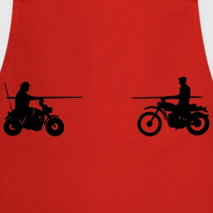 Bud vs. Terence on Bike Shirt - Kochschürze