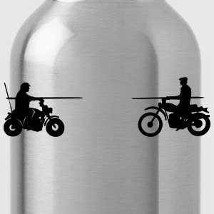 Bud vs. Terence on Bike Shirt - Trinkflasche
