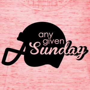 Any given Sunday T-Shirts - Women's Tank Top by Bella