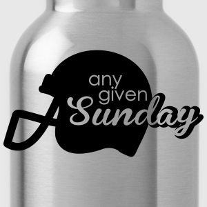 Any given Sunday T-Shirts - Trinkflasche