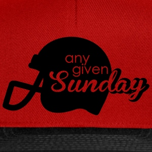Any given Sunday T-Shirts - Snapback Cap