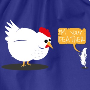 Tee shirt I'm your feather - Sac de sport léger