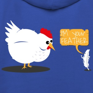 I'm your feather T-Shirt - Kids' Premium Hoodie
