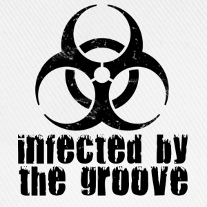 Infected by the Groove T-Shirts - Baseballkappe