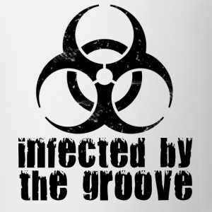 infected by the groove T-Shirts - Mug