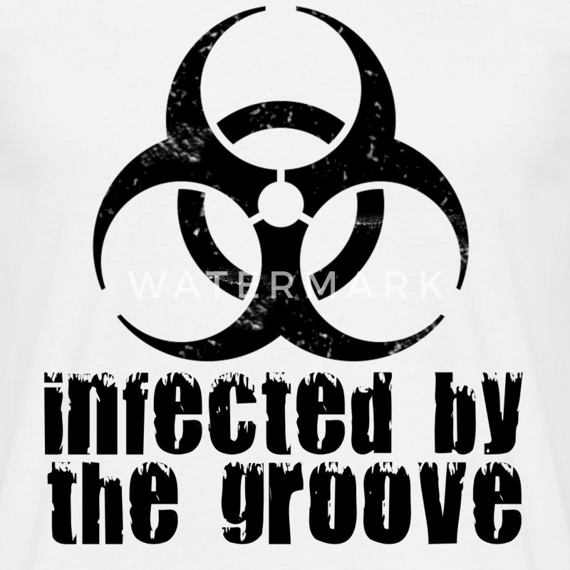 infected by the groove T-Shirts - Men's T-Shirt