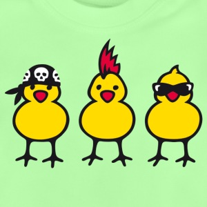 Power Chicks - Baby-T-shirt