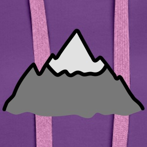 Mountain T-Shirts - Women's Premium Hoodie