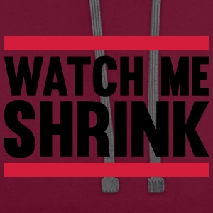 Watch Me Shrink T-shirts - Contrast hoodie