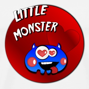 Little monster 4 Flessen & bekers - Mannen Premium T-shirt