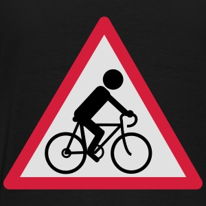 attention_cycliste_2 Sweat-shirts - T-shirt Premium Homme