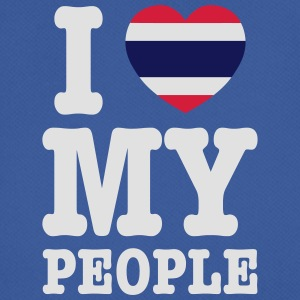 I Heart (Love) My Thai People Bags - Men's Breathable T-Shirt