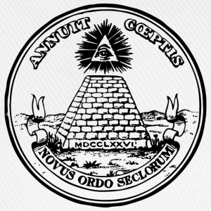 All seeing eye, pyramid, dollar, freemason, god Magliette - Cappello con visiera