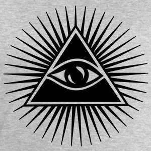 All seeing Eye, Pyramid, Horus, Triangle, Symbols, T-shirts & Hoodies - Men's Sweatshirt by Stanley & Stella