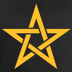 Star of the Magi - Pentagram - Sign of intellectual omnipotence and autocracy. Vector, Blazing Star, powerful symbol of protection T-Shirts - Men's Sweatshirt by Stanley & Stella