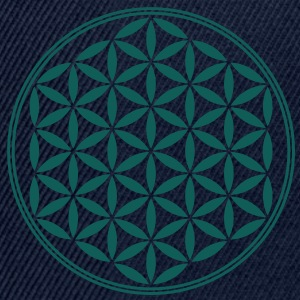 Vector - Flower of Life - 02, 1c, sacred geometry, energy, symbol, powerful, healing, protection, cl T-Shirts - Snapback Cap