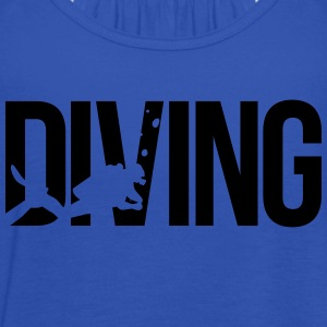 diving scuba T-Shirts - Women's Tank Top by Bella