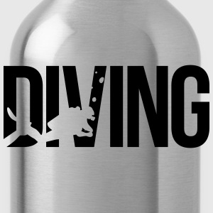 diving Tauchen T-Shirts - Trinkflasche
