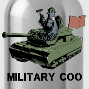Military Coo T-Shirts - Water Bottle