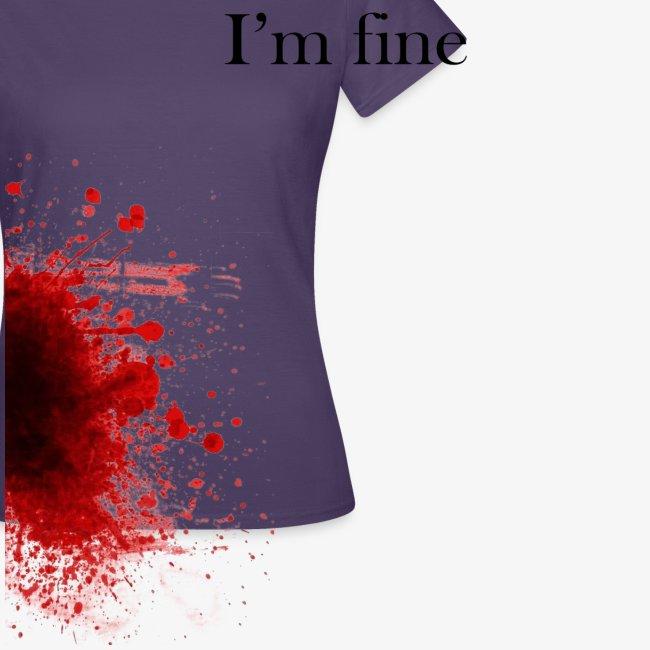 Zombie Terror War Shirt - I'm fine T-Shirts
