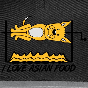 I Love Asian Food T-Shirts - Snapback Cap