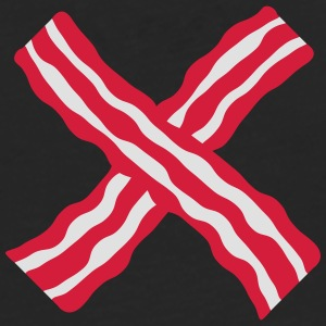 Bacon Cross Tee shirts - T-shirt manches longues Premium Homme