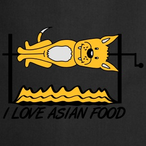 I Love Asian Food T-Shirts - Cooking Apron
