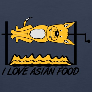 I Love Asian Food T-Shirts - Men's Premium Tank Top