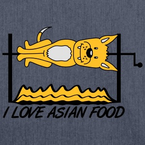 I Love Asian Food T-Shirts - Shoulder Bag made from recycled material