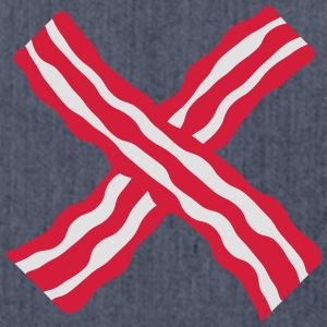 Bacon Cross T-shirts - Skuldertaske af recycling-material
