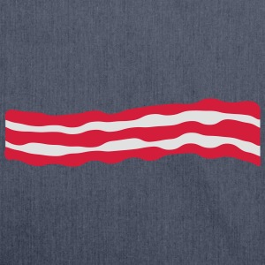 Bacon T-Shirts - Shoulder Bag made from recycled material