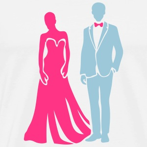 couple marie homme femme wedding 20063 Sweat-shirts - T-shirt Premium Homme