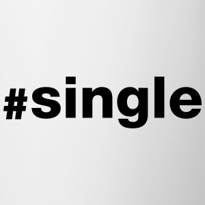 Hashtag Single T-Shirts - Tasse