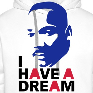 Martin Luther King for ever ! - Sweat-shirt à capuche Premium pour hommes