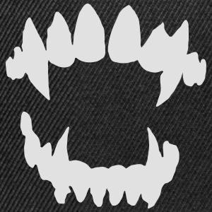 Halloween Vampire - Vampire teeth Hoodies & Sweatshirts - Snapback Cap