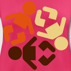 baby recycling international 3 Farb Vektor Kinder & Babys - Frauen T-Shirt atmungsaktiv