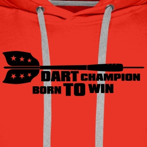 Dart Champion T-Shirts - Men's Premium Hoodie